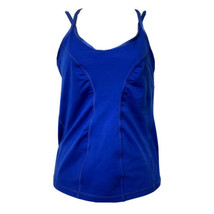 Zella Slim Fit Strappy Athletic Blue Athletic Workout Tank Top Size M - $14.84