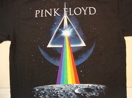 Pink Floyd Rock Band Music Dark Side Of The Moon Album Black T Shirt Size L - $15.04