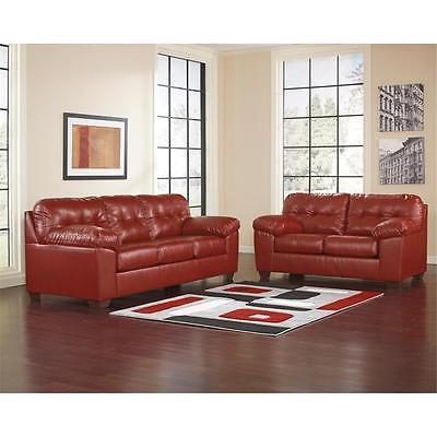 Ashley Alliston Salsa DuraBlend Living Room Set 3pc. Contemporary Style