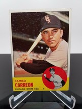 1963 Topps Camilo Carreon #308 Baseball Card - $3.41