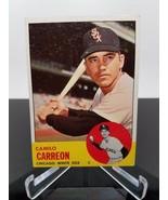 1963 Topps Camilo Carreon #308 Baseball Card - $3.41