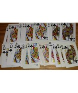 30 Queen of Clubs Playing Cards Swap Poker for Crafts Arts Banners Projects - $14.84