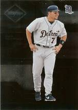 2005 leaf limited ivan rodriguez detroit tigers serial 592/699 baseball card - $2.50