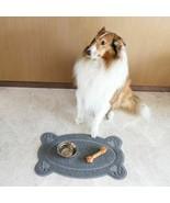 Pet Dog Puppy Cat Feeding Mat Pad Cute Bed Dish Bowl Food Wipe Clean Col... - $9.95