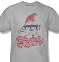 Major League T-shirt Wild Thing 90s baseball movie cotton blend grey tee Par474 image 1