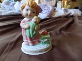 """Avon Tender Memories, """"God Bless My Dolly"""", 1990 Figurine - $4.99"""