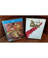 Indiana Jones + Godfather Collection (Blu-ray) Slipcover - Brand NEW-Fre... - $58.50