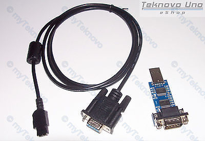1x USB FTDI FT232R OpenBoard Cable KIT for HP48GX 48G+ 48G 48SX 48S [HP 48] & CD