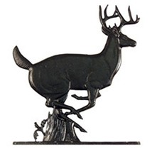 Whitehall Products Buck Plaque, Black - $38.07