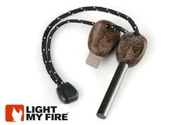 Firesteel Scout 2.0 Light My Fire Acier Cacao Démarreur W/Sifflet 3k Att... - $22.03