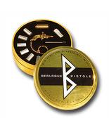 GOLD Key Ring BERLOQUE pinfire gun flintlock Caps pistol Complete Set me... - $170.00