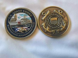 "COAST GUARD MAINTENANCE AUGMENTAITON TEAM SAN JUAN 1.75"" CHALLENGE COIN  - $17.09"
