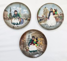 (3) Royal Doulton Ceramic Collectable Tableware/Wall Decor D6663. D6666 D6649 - $295.00