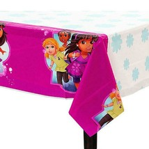"Dora and Friends Plastic Table Cover 1 Per Package 54"" x 96"" Birthday Pa... - $4.90"