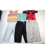 Disney Garanimals Macys Baby Boys 24M Shirt Pants Sleeper Shorts 6 Piece... - $18.80