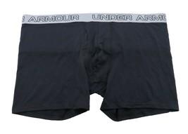 UNDER ARMOUR HeatGear Underwear sz 4XL Extra Extra Extra Extra Large Black Grey - $16.19