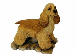 Cocker Spaniel Figurine Puppy Dog Decor gift Sheratt Simpson Willitts Co... - $24.14