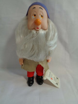 "Vintage 1980's Bikin Disney Snow White Sleepy Dwarf Doll 6 1/2""  - $5.52"