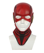 2017 New Justice League The Flash Mask Latex Halloween Cosplay Mask Prop... - $48.00