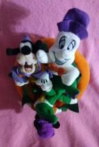 Halloween Mickey Pumpkin Mini Bean Bag Beanies Disney Store Plush Casper... - $22.18