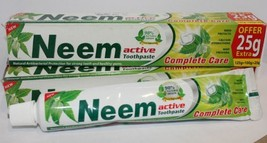 Neem Active Toothpaste 125 Gm Pack of 2 - $11.18