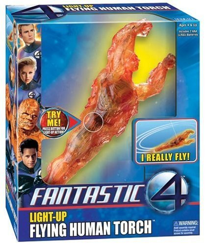 Fantastic 4 Flying Human Torch