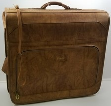 I) Vintage Verdi Brown Luggage Suitcase Carrier Clothing Hanger Bag - $64.34