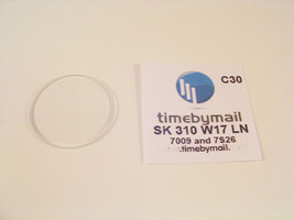 New Replacement Glass Crystal For SEIKO 5 Watch Part 7009 7S26 31mmX1.7m... - $18.63