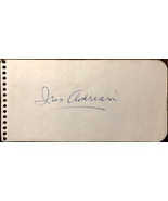 IRIS ADRIAN AUTOGRAPHED Hand SIGNED 1950s Vintage ALBUM PAGE Lady of Burlesque - $19.99