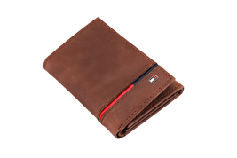 Tommy Hilfiger Men's Leather RFID Extra Capacity Trifold Wallet 31TL110044 image 15