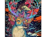 """Paint By Number Kit DIY Colorful Deer Animal Fantasy Abstract 16x20"""" Canvas"""