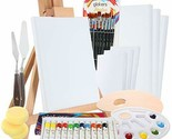 Glokers Complete Acrylic Painting Supplies Kit - 36 Pieces - See Description - £32.70 GBP