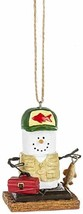 Gnz S'Mores Fisherman Christmas/Everyday Ornament - $17.44
