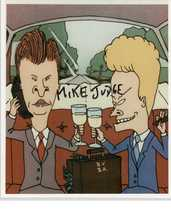 "Mike Judge Signed Autographed ""Beavis & Butthead"" Glossy 8x10 Photo - COA Holos - $49.99"
