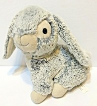 """Best Made Toys Plush Soft Bunny Rabbit Gray and White Lovey Easter 11"""" - $17.55"""