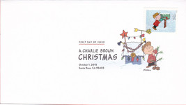 US #5021-30 2015 First-Class Issue Set Charlie Brown Snoopy Contemporary Christm image 9