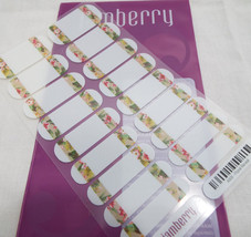 Jamberry Floral Reveal A931 Activated Nail Wrap (Full Sheet ) Retired - $16.82