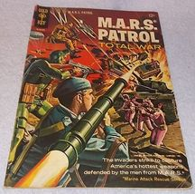 Gold Key Comic Book M.A..R.S Patrol Total War No 3 1966 FN - $9.95