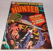 DC Comic Book Our Fighting Forces presents Capt Hunter No 103 Joe Kubert VF - $9.95