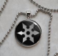Ninja Shuriken Throwing Star Pendant Necklace - $14.00+