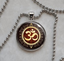 Om Aum Symbol Meditation Pendant Necklace - $14.00+