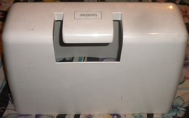 Plastic XR-40 Brother Dust Cover Good / Fair Shape 1 Small Crack @ Bottom - $10.00