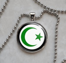 Star and Crescent Islam Islamic Symbol Pendant Necklace - £10.04 GBP+