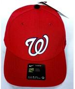 NWT Washington Nationals MLB Men's Baseball Cap Hat Strapback Adjustable - $26.27