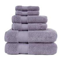 Wisteria Turkish Long Staple Cotton 800 GSM 2,Bath, 2 Hand, 2 Face Towel... - $54.95