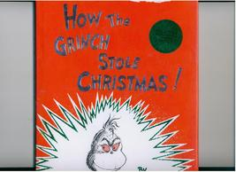 Dr. Seuss - HOW THE GRINCH STOLE CHRISTMAS - hb/dj - $15.00