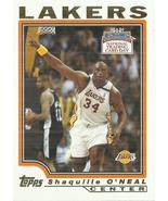 2004 Topps National Trading Card Day #T9 Shaquille O'Neal - $0.50