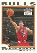 2004 Topps National Trading Card Day #T10 Kirk Hinrich - $0.50