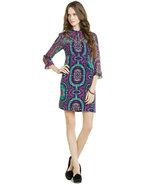 "Nanette Lepore ""Hot to Trot"" Iris Print Tunic Dress Size 2   NWT $398 - $211.40"