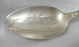 Sterling Silver Souvenir Spoon Newark Valley, NY High School, ca. 1900 - $35.36